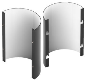 NorthClad CL Series Column Cover System